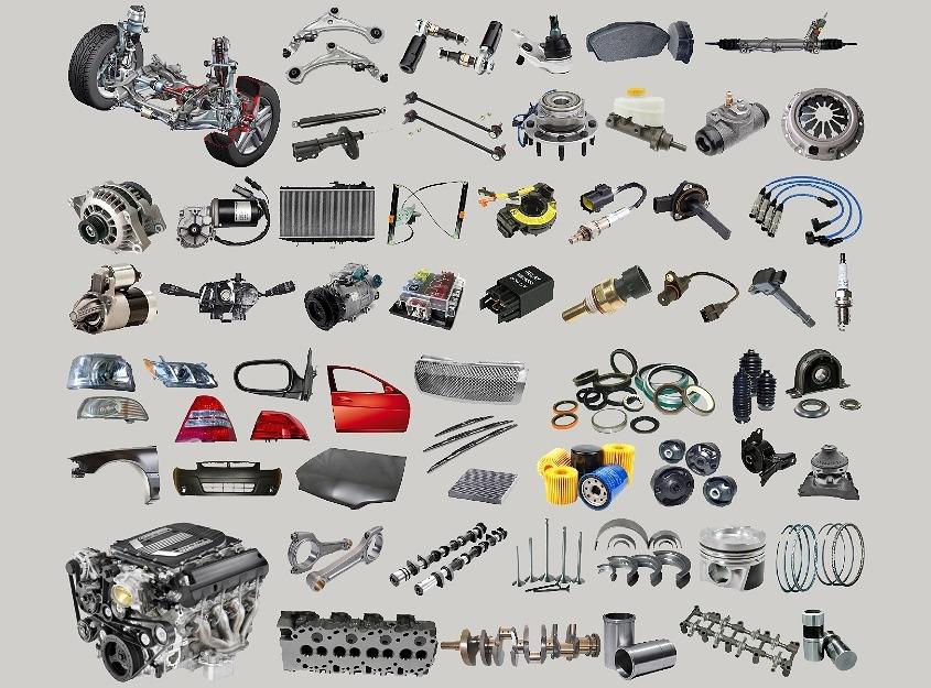 automotive spare parts partslabs