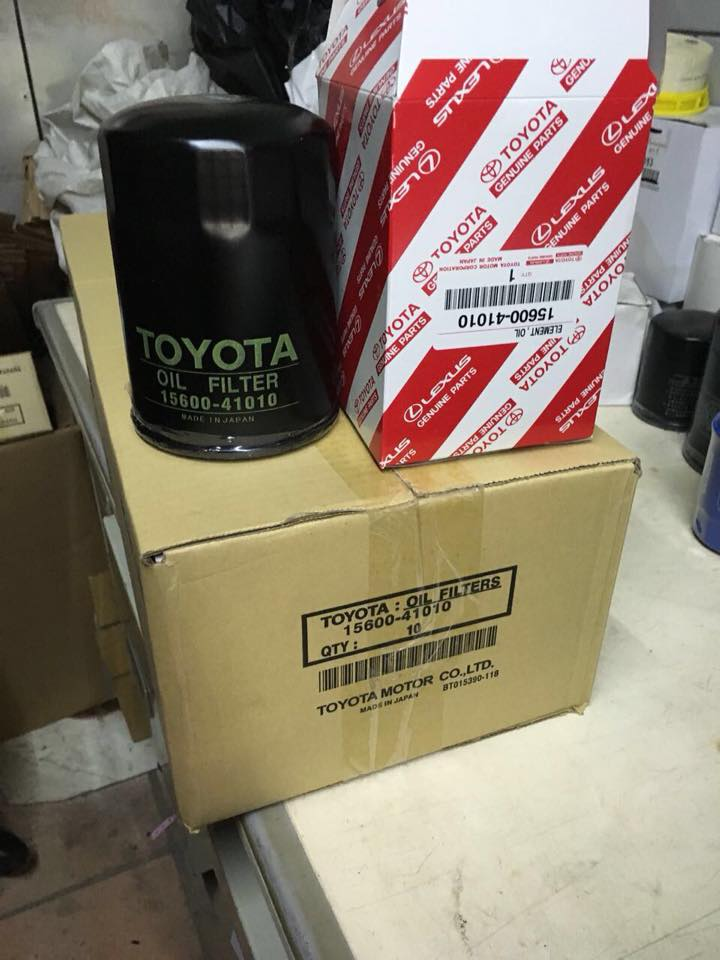 Best quality Japanese car oil filter 15601-BZ010 for Toyota